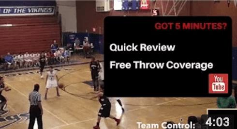 Free throw positioning Trail
