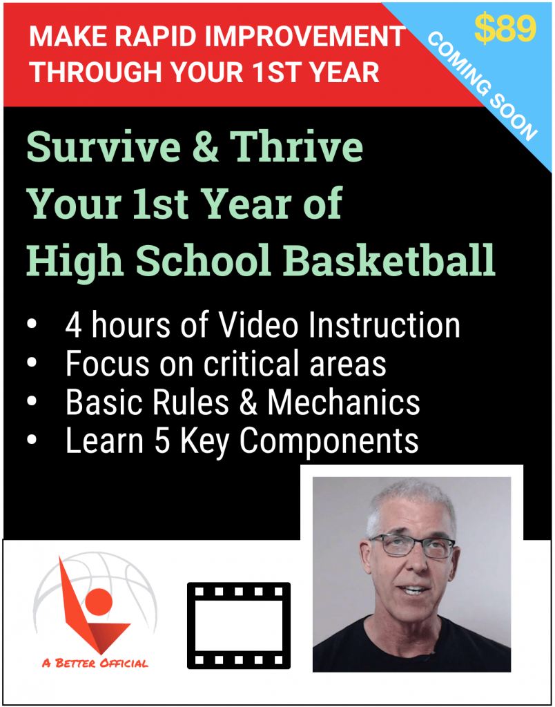survive and thrive your first year basketball referee