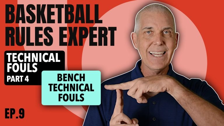 Bench Technical Fouls NFHS Basketball Rules
