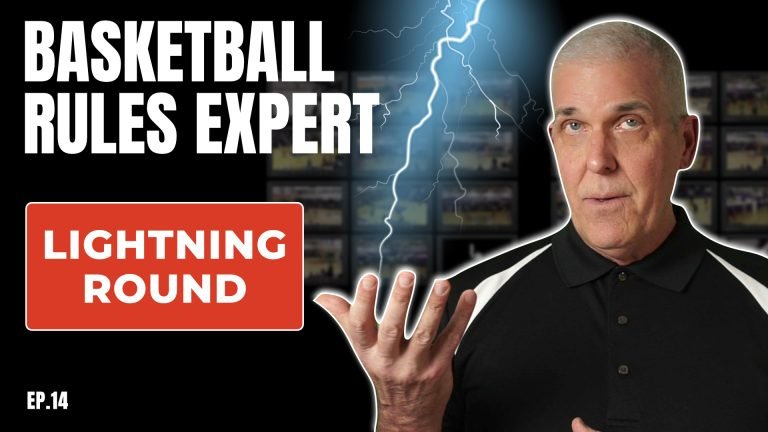 Rules Expert Lightning Round with tough basketball rules questions