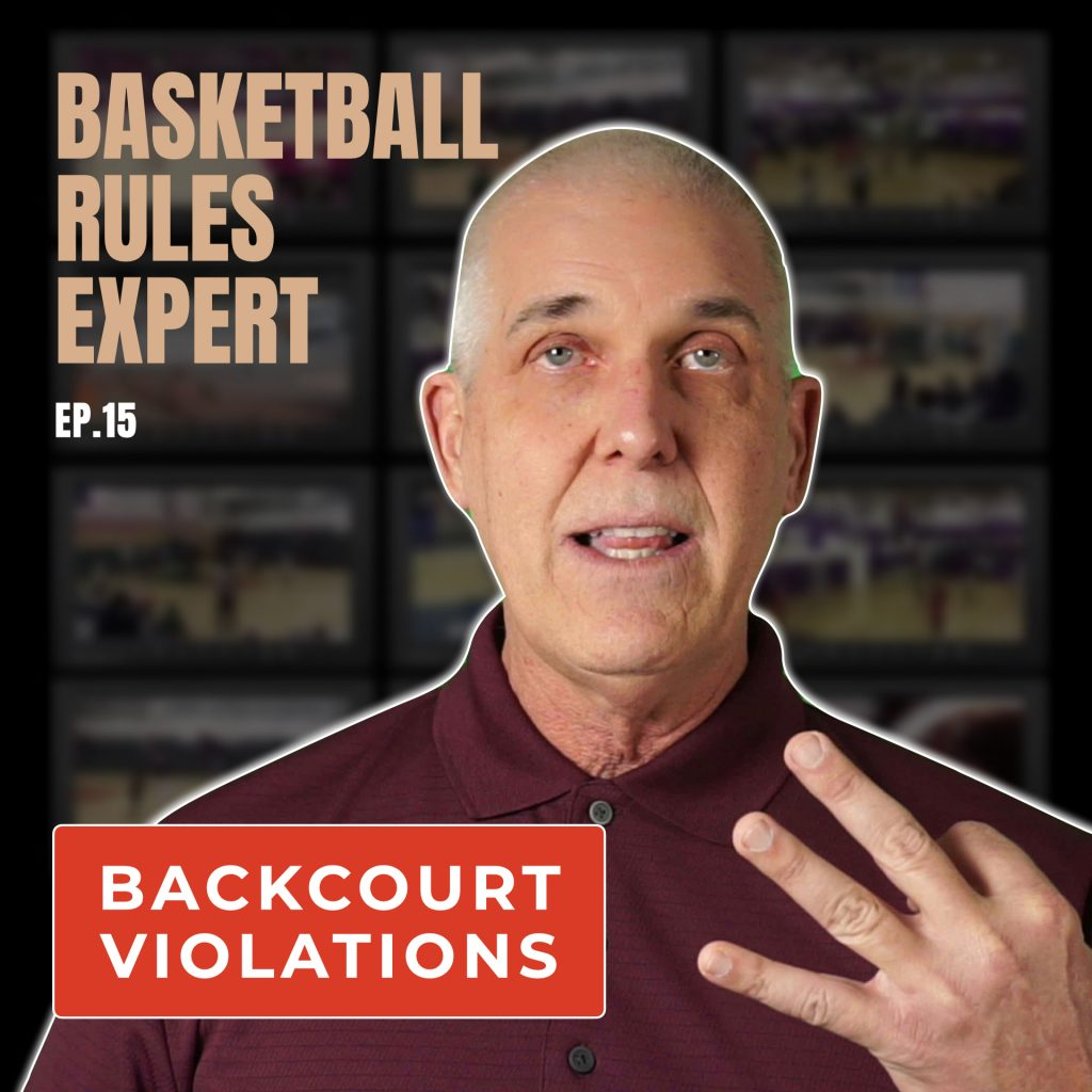 backcourt violations in National Federation of High School Basketball Rules